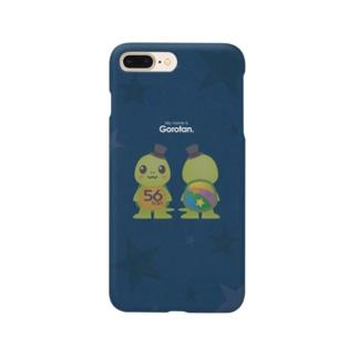 亀のごろたん裏表 Smartphone cases