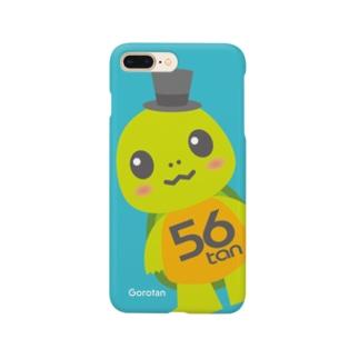 亀のごろたん Smartphone cases