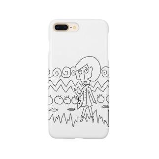トレンチレディー Smartphone cases