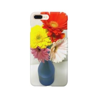 花瓶の花 Smartphone cases