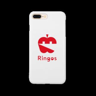 Ringos(リンゴズ)のRingos(リンゴズ) ・アイコン Smartphone cases