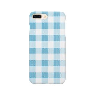 check blue Smartphone cases