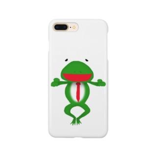 ざまぁガエル Smartphone cases