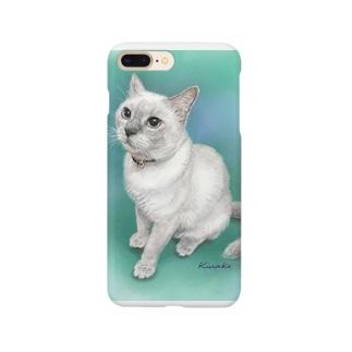 トンキニーズのビーちゃん Smartphone cases