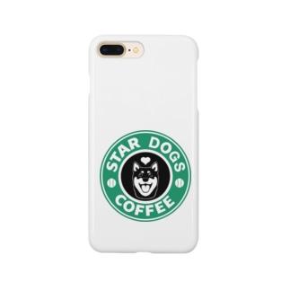 S.D.C.黒柴バージョン Smartphone cases