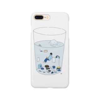 Knabino vivanta en glaso Smartphone cases
