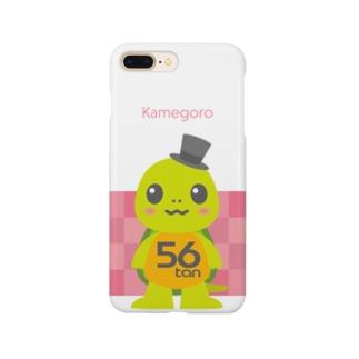 亀五郎ピンク スマートフォンケース