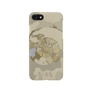 アンモナイトシリーズ1 Smartphone cases