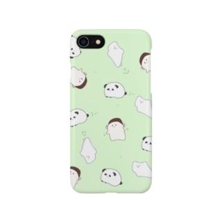 パンダしろくまゴリラ Smartphone cases