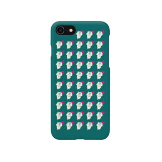 ハーンがいっぱいケース 8/7 みどり Smartphone cases