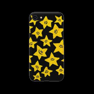 MOGUMO SHOPのきいろいほしくん Smartphone cases