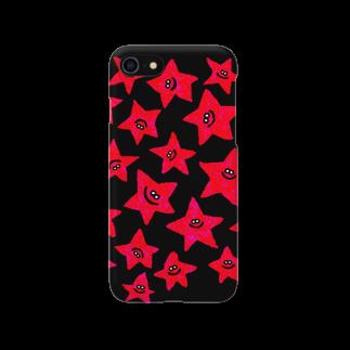 MOGUMO SHOPのあかのほしくん Smartphone cases