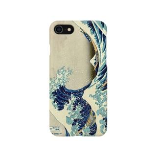 北斎2 Smartphone cases