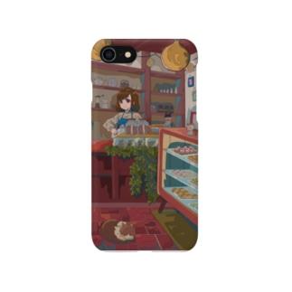 猫のいるケーキ屋さん Smartphone cases