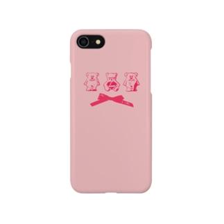 くま love Smartphone cases