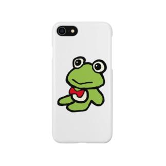 カエルくん Smartphone cases