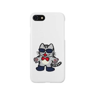 グラ猫くん Smartphone cases
