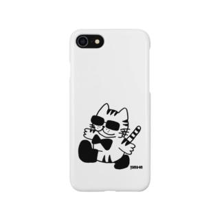 グラ猫散歩 Smartphone cases