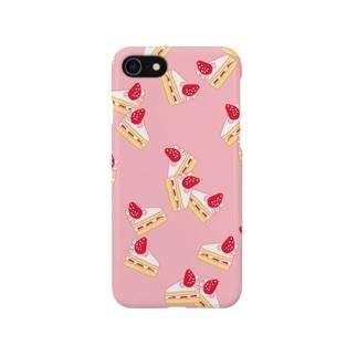 ショートケーキ Smartphone cases