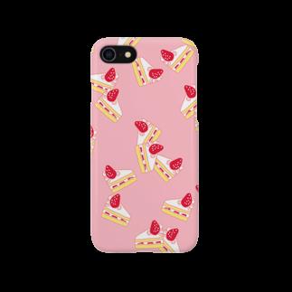 nanastrawberryのショートケーキ Smartphone cases