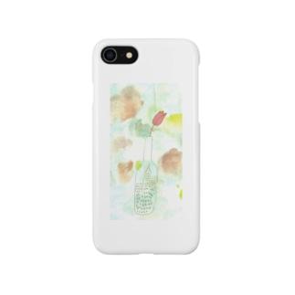 花が咲いた スマートフォンケース