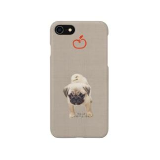 チビお茶目スマホケース Smartphone cases