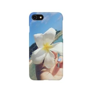 アロハ☆プルメリア Smartphone cases