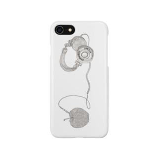 林檎ヘッドフォン Smartphone cases