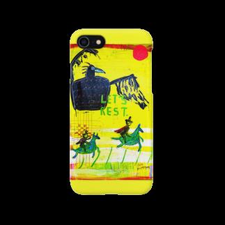 DoiMayumiのPOP ART(道に迷ったら)スマートフォンケース