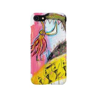 POP ART(My shield is...) Smartphone cases