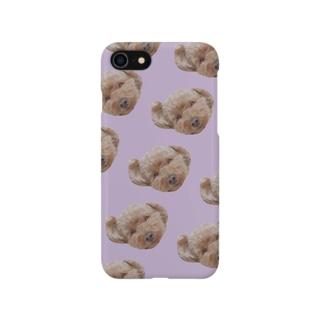 イヌのiPhoneケース Smartphone cases