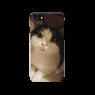 猫カフェ Nyanny 秋葉原店のみーくんのスマートフォンケース