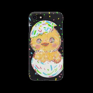 橋本京子のピヨコちゃん。 Smartphone cases