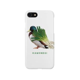 カモネギのiphoneケース Smartphone cases