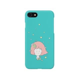 星と女の子 Smartphone cases
