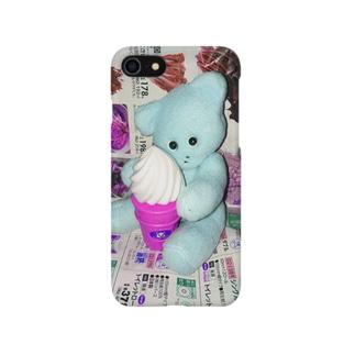 たろきちがアイス食べてる Smartphone cases