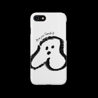 宿根ピーチのかにゅ (ほっぺの生き霊) Smartphone cases
