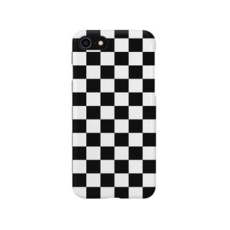 checker flag スマートフォンケース