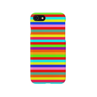Multi Border Stripe* Smartphone cases
