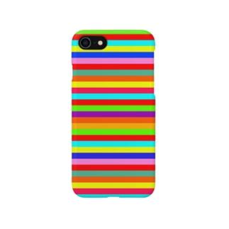Multi Border Stripe* Smartphone cases