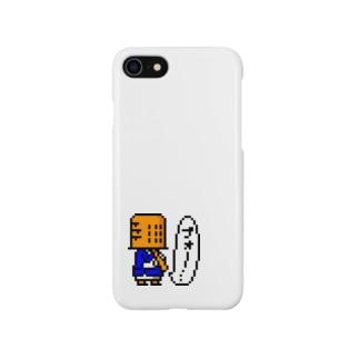 虚無僧(ドット) Smartphone cases
