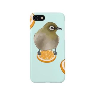 メジロオレンジ Smartphone cases