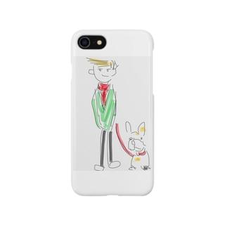 ステッチとトム Smartphone cases