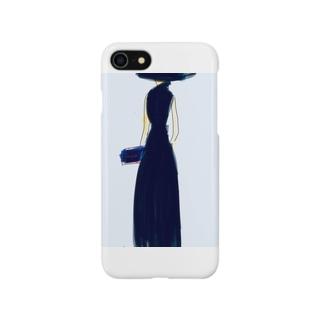 ドレスの女 Smartphone cases