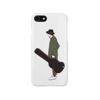 illust_mの三十路ギター Smartphone cases