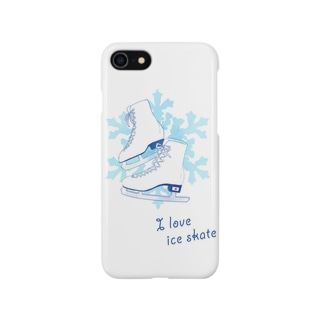 I  love  ice skate...♡ Smartphone cases