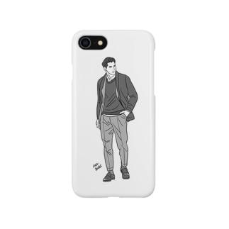 ハンサム君 Smartphone cases