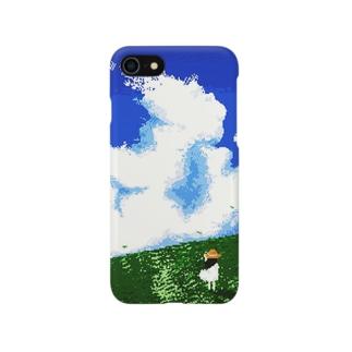 夏空(ドット) Smartphone cases