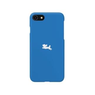 Leon Records 雲レオン(ブルー) Smartphone cases