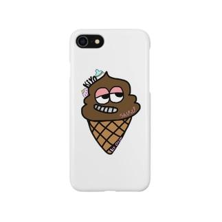 🍓うんぴっぴアイス🍼 Smartphone cases
